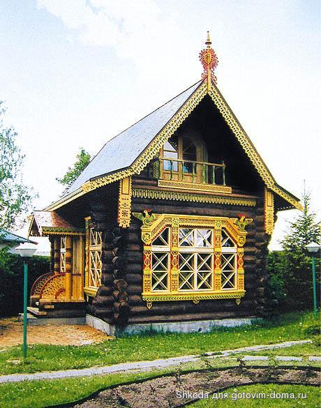 причелины и полотенца русской избы