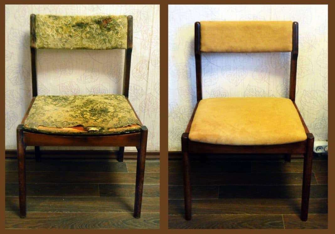 Реинкарнация рухляди своими руками: как перетянуть стул правильно?