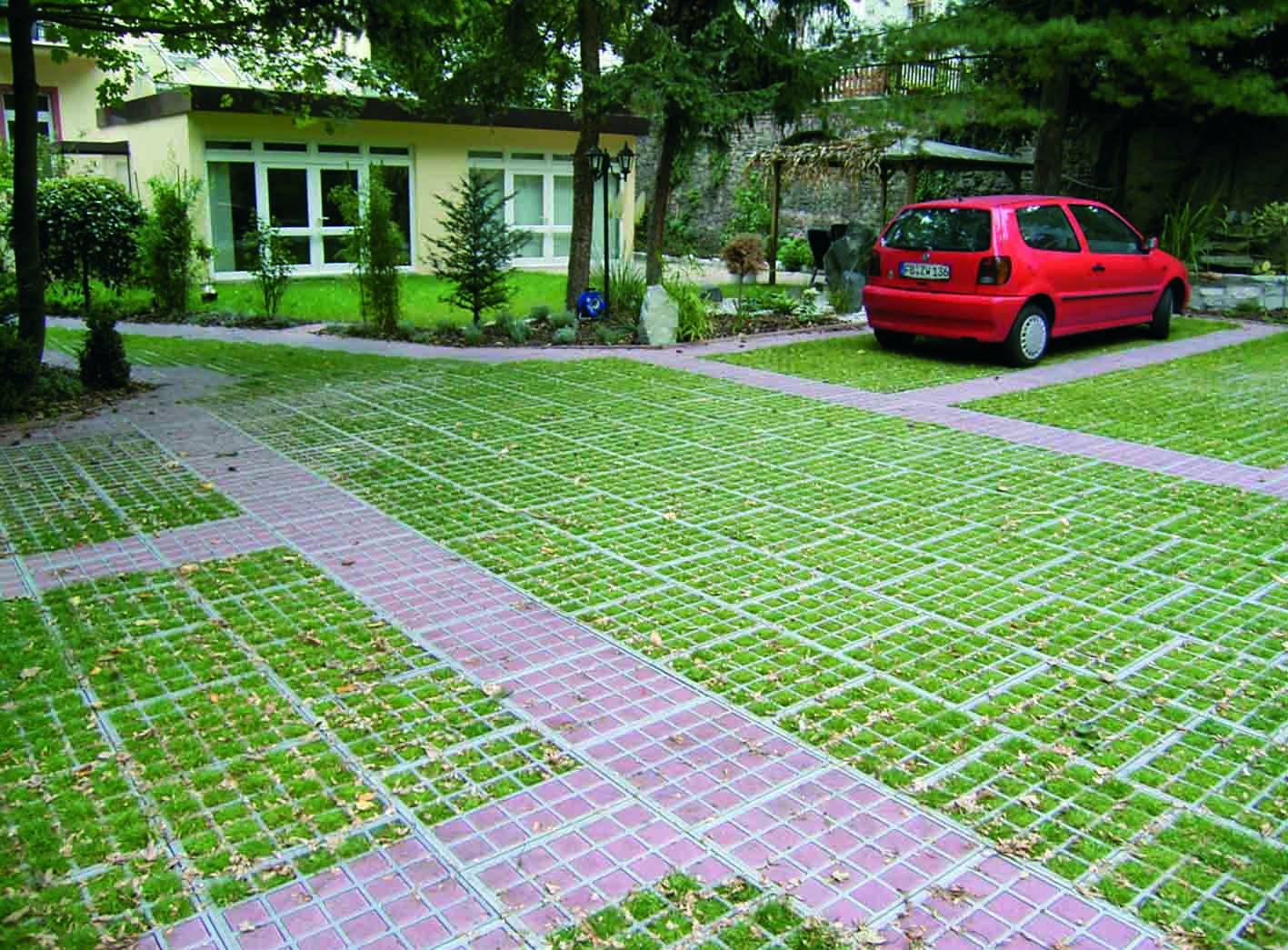 Газонная решетка - обзор бетонных, пластиковых, для дорожек, парковочных мест по производителям и ценам