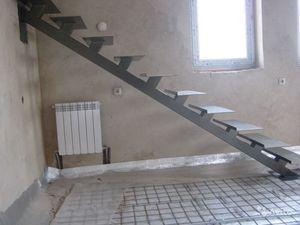 лестница на металлокаркасе своими руками