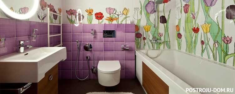 Плитка для маленькой ванной комнаты (150+ фото) — modernplace