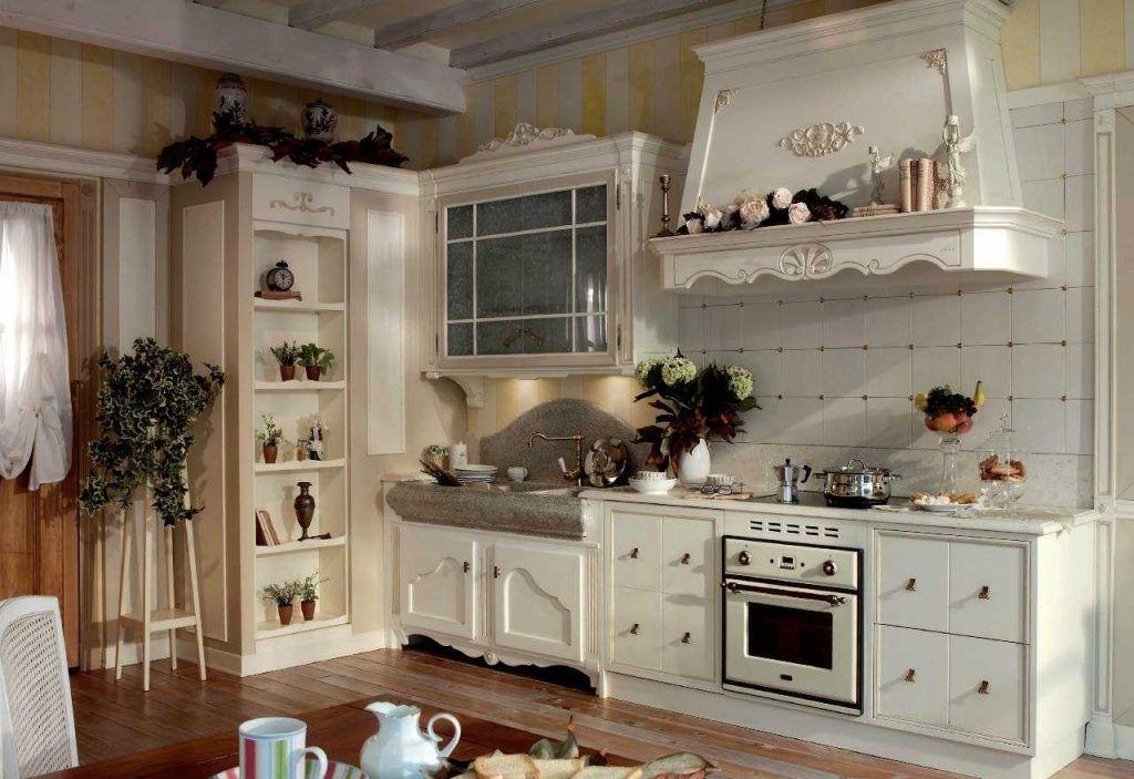 кухня в стиле прованс в малогабаритной кухне