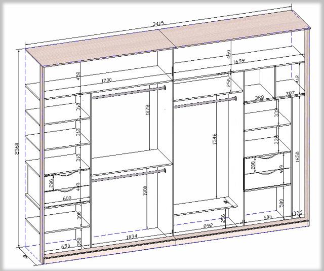 Программы для проектирования и расчётов шкафа-купе