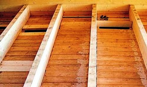 Черновой пол в деревянном доме - устройство и укладка