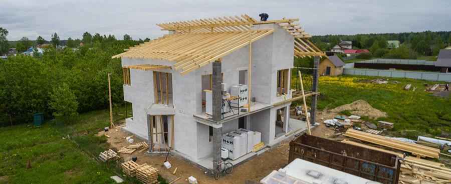 Проекты домов из газобетонных блоков цены под ключ, проекты в москве