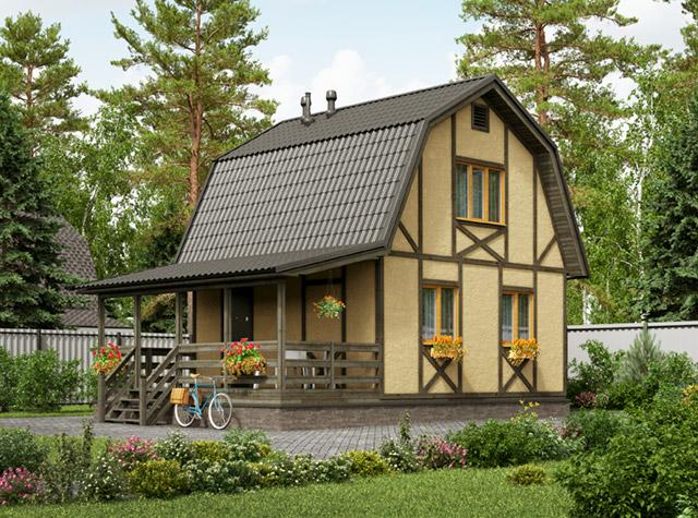 двухэтажные дома фото