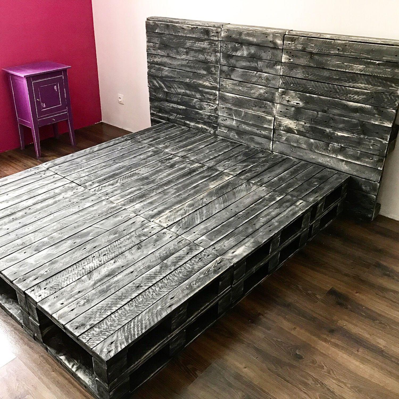 Варианты кроватей из поддонов с пошаговой инструкцией и фото