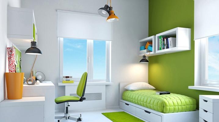 мебель вокруг окна