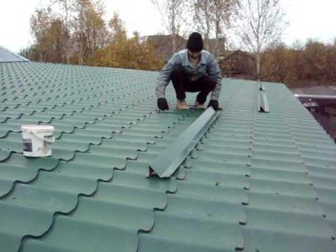 Снегозадержатели на крышу: виды и особенности выбора