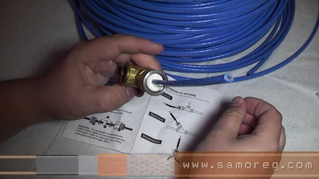греющий кабель для скважины