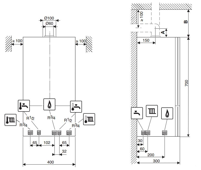 Котёл газовый buderus logamax u072-24k настенный (закрытая камера, мощность 24 квт, германия) - цена в перми, в магазине «дом котлов» - купить двухконтурный газовый котел buderus logamax u072-24k, г. пермь. описание, характеристики, отзывы и фото.