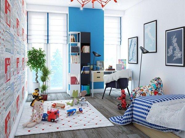 Дизайн маленькой детской комнаты: 75 оригинальных идей интерьера