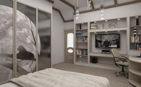 Дизайн комнаты для молодого человека (46 фото): интерьер в современном стиле для парня 20 лет, варианты оформления спальни для юноши