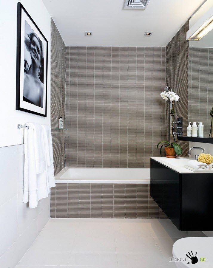 Отделка ванной плиткой - 155 фото красивых идей и сочетаний при оформлении ванной комнаты