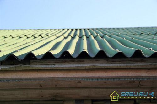 крыша из ондулина отзывы