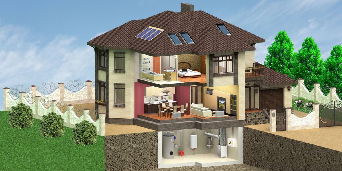 Фундамент с цокольным этажом своими руками: виды, конструкция, особенности строительства