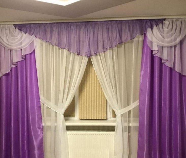 Фиолетовые обои в интерьере: от цветочного до туманного