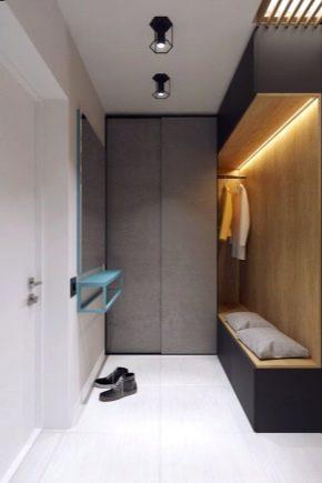 шкаф в узкий коридор