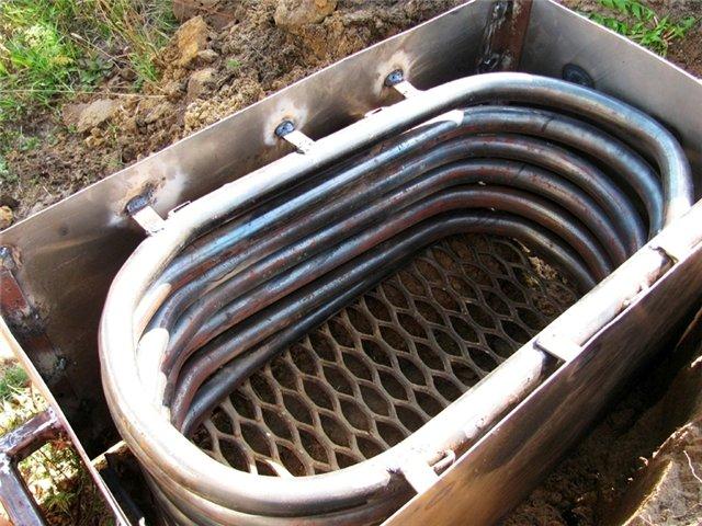 Дровяная печь для бассейна: печка на дровах своими руками