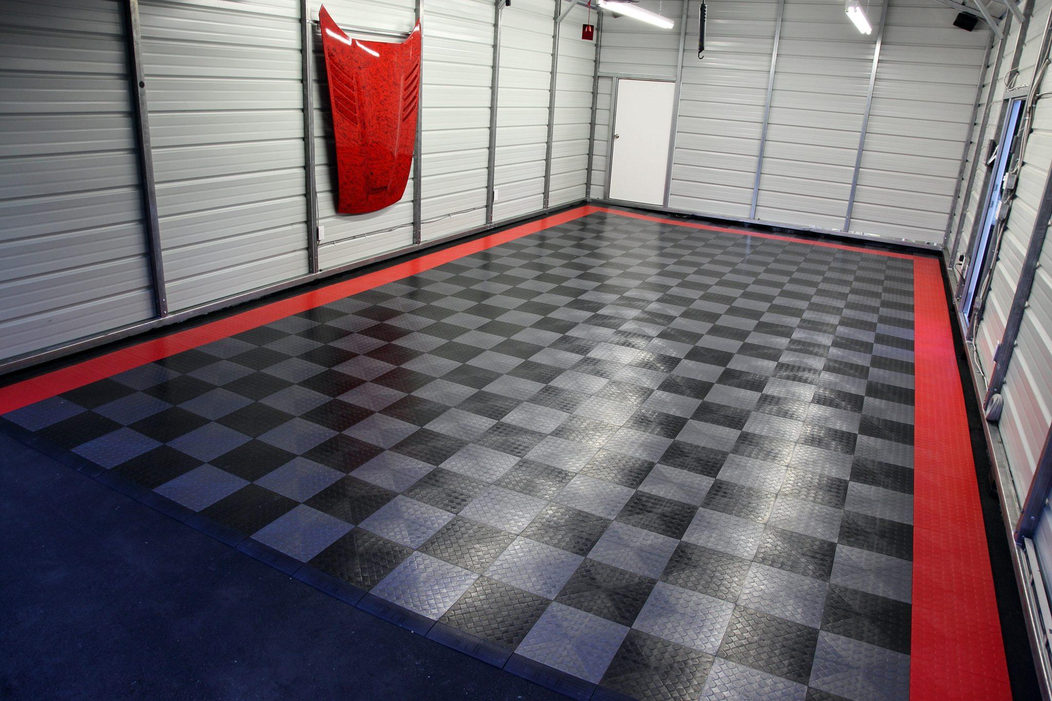 Полы в гараже: варианты из разных материалов, бетонная стяжка и финишная отделка