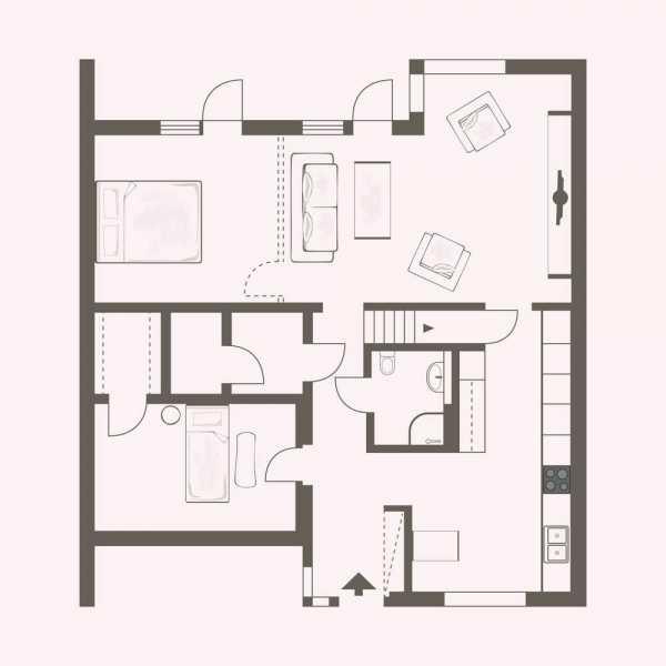 Дизайн дома (228 фото): интерьер всех комнат загородного дома, оформление лестницы на второй этаж в частном