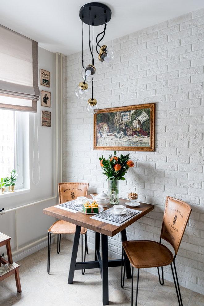 маленький кухонный стол
