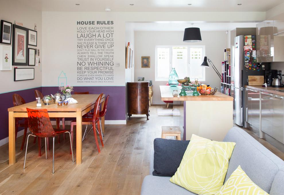 Дизайн стен на кухне: современные материалы и варианты декорирования