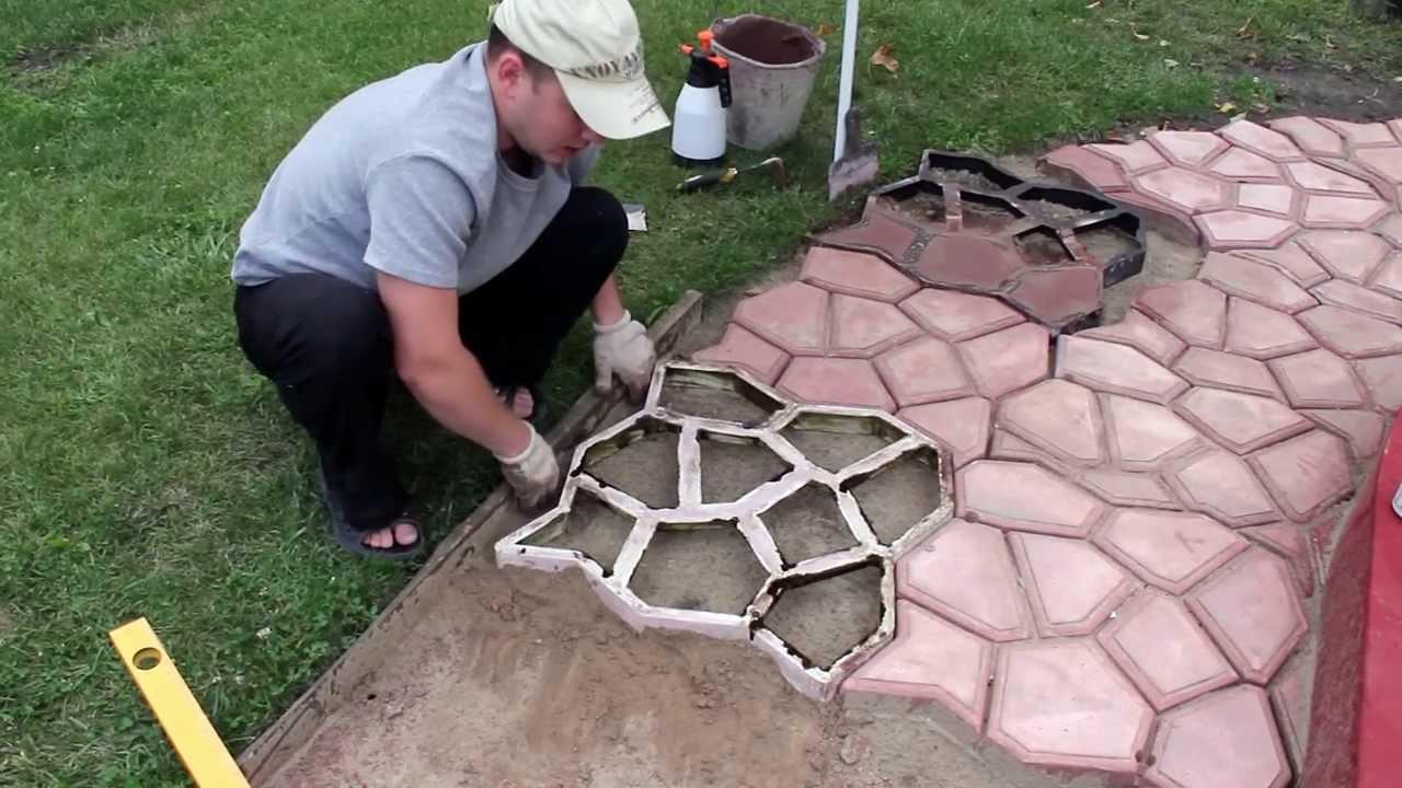 Как сделать бетонные дорожки на даче своими руками: советы профессионалов