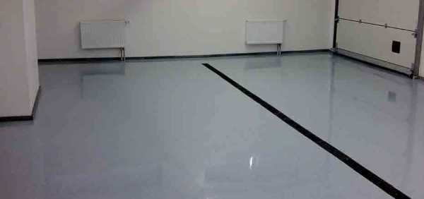 Наливной пол для гаража – требования, характеристики, заливка + видео