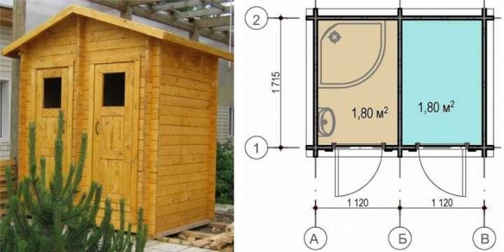 Уличные туалеты: лучшие варианты для дачи