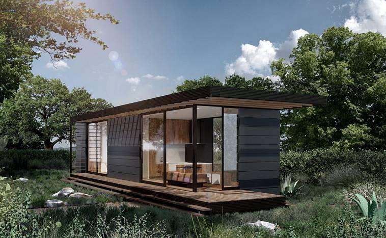 модульные дома для круглогодичного проживания проекты