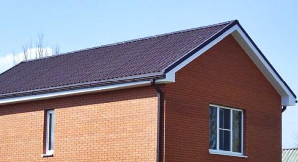 Двухскатная крыша: 110 фото базовых особенностей конструкции