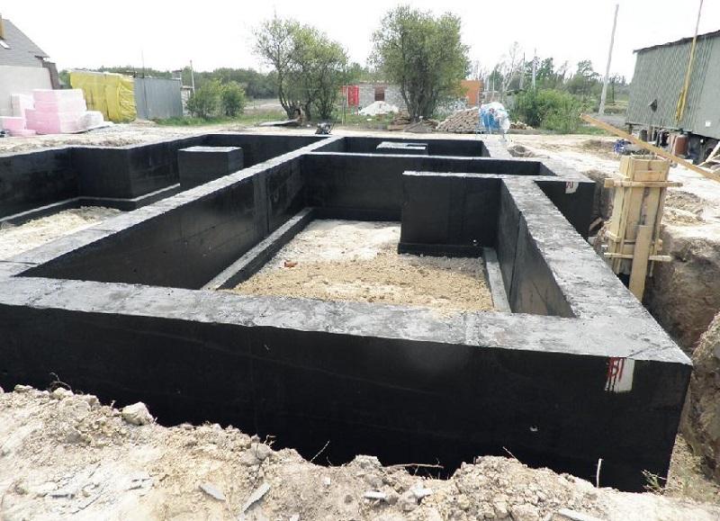 гидроизоляция под фундамент