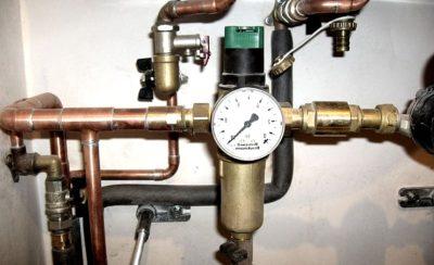 давление воды в частном доме