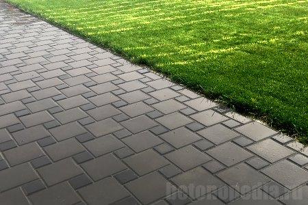 Инструкция по укладке тротуарной плитки на бетонное основание