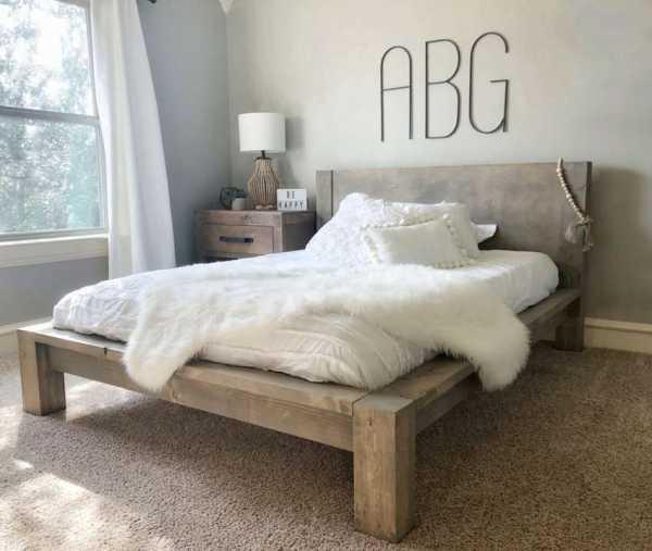 собрать кровать своими руками