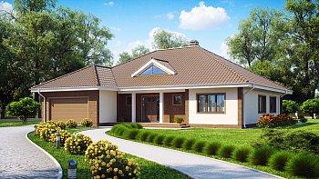 лучшие планировки одноэтажных домов
