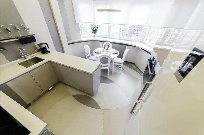 Дизайн кухни 14 кв м с диваном — фото новинки 2017 года