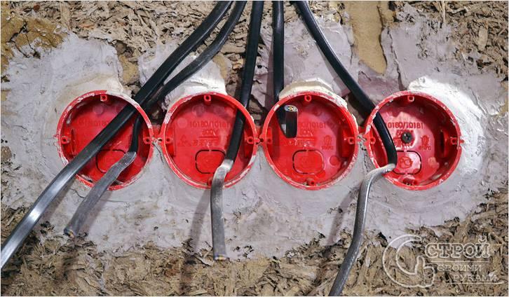 Подрозетники по бетону: размеры, установка и фиксация