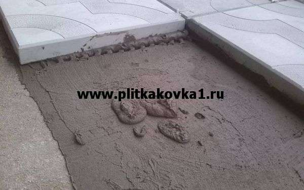 Состав бетона для тротуарной плитки: компоненты и их пропорции