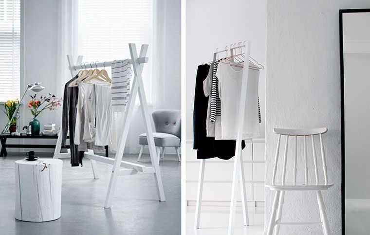 Размер вешалки для одежды: стандартные, соотношение с одеждой
