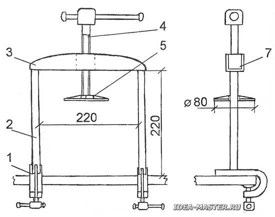 Самодельный пресс для яблок своими руками: процесс изготовления и техника отжима сока