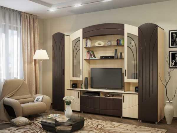 Стенка в гостиную (79 фото): выбираем красивые мебельные варианты из гипсокартона и встроенные модели с комодом для зала
