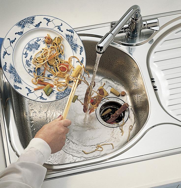 измельчитель в раковину на кухню