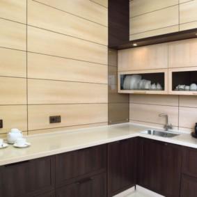 Какие панели лучше для кухни: из дерева, стекла, пластика, дсп или мдф? мы знаем ответ!