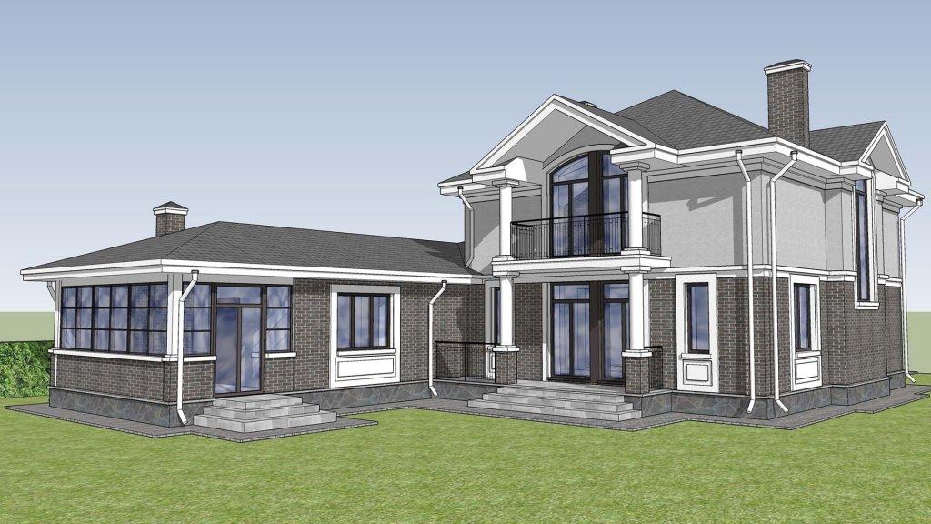 планировка 2 этажного дома