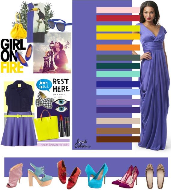 Фиолетовый цвет - значение, применение, сочетание | lookcolor