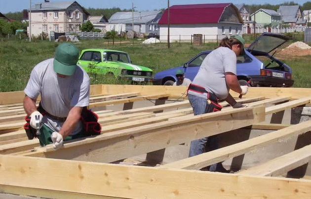 смотреть онлайн строительство домов