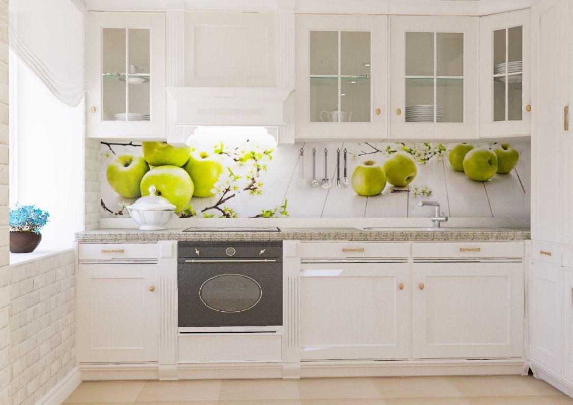 пластиковые панели для кухни фартук
