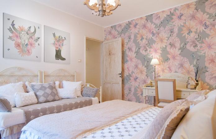 Розовые обои: 5 вариаций романтичного интерьера